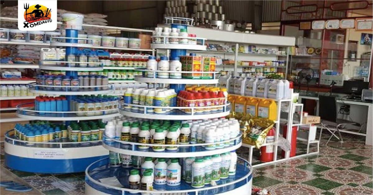 Kinh doanh sản phẩm phân bón thuốc trừ sâu