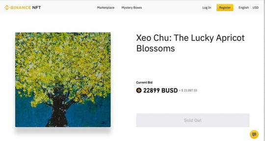 Xèo Chu: Hoa mai may mắn