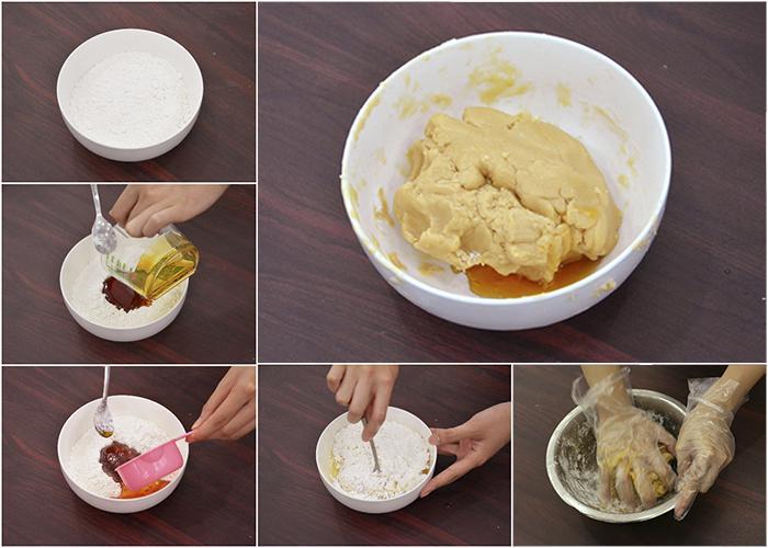 Cách làm bánh trung thu nướng như thế nào