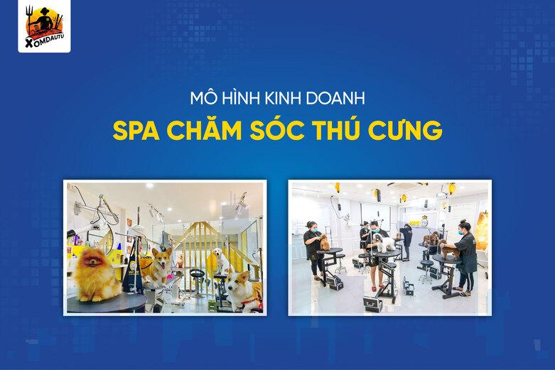 Khoi Nghiep 200 Trieu Tu Mo Cua Hang Cham Soc Thu Cung
