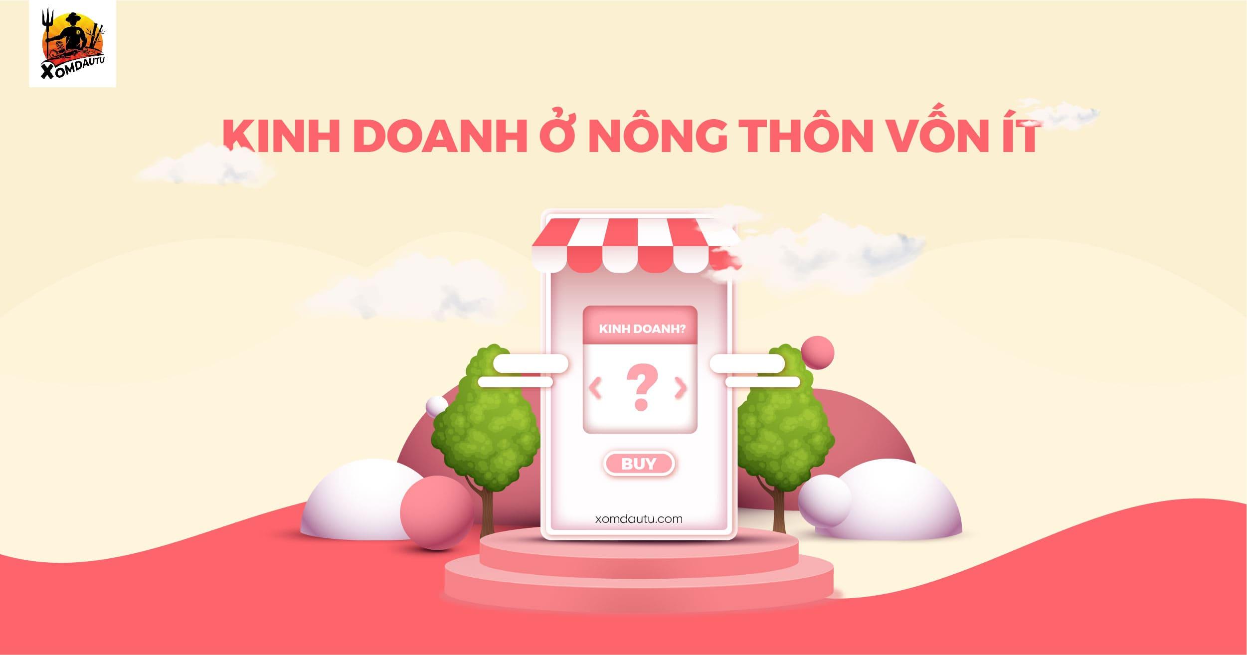 Kinh Doanh O Nong Thon Von It