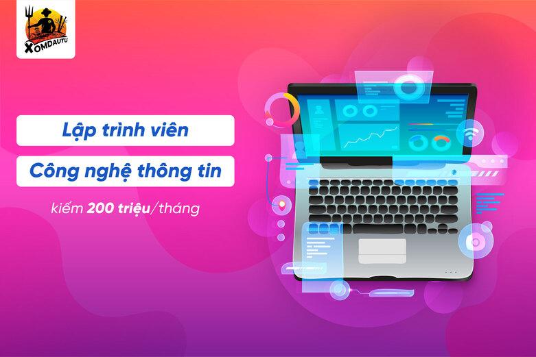 Lap Trinh Vien Kiem 200 Trieu 1 Thang Ban Nghe Den Chua