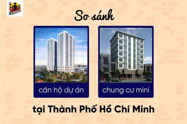 So Sanh Can Ho Du An Voi Chung Cu Mini 200 Trieu Tphcm
