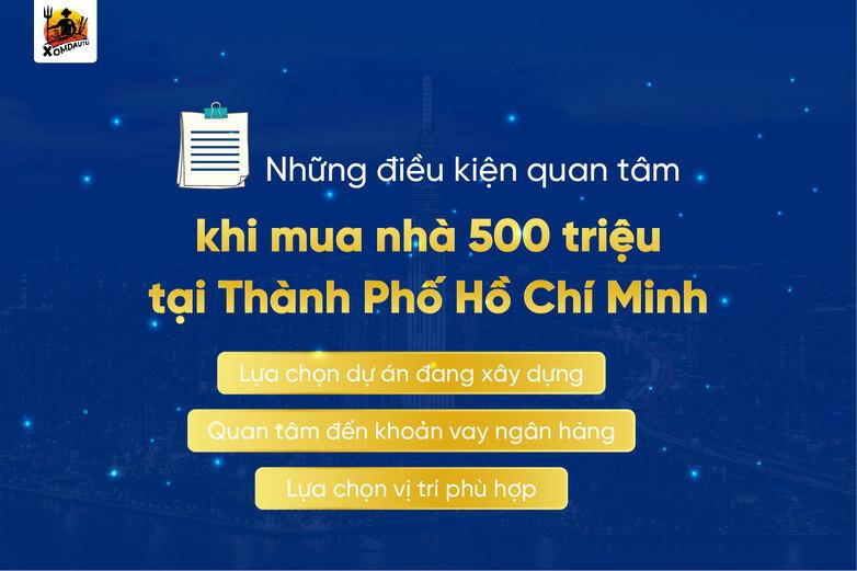 Dieu Quan Tam Khi Mua Nha 500 Trieu Tphcm
